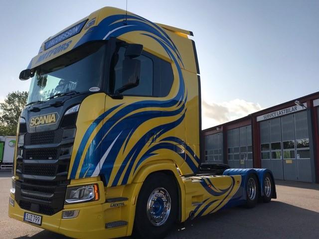 Scania S500A6x2NB ADR FL till Kund Jacobssons Åkeri AB