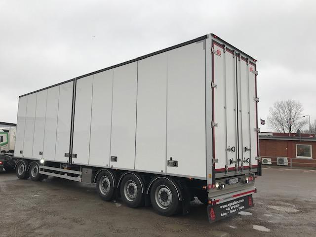 5 axlad HRD / PLS släpvagn