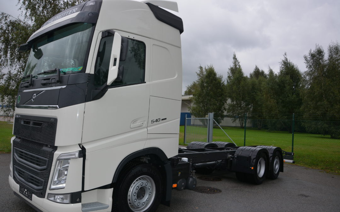 Volvo FH 540 6*2 chassin