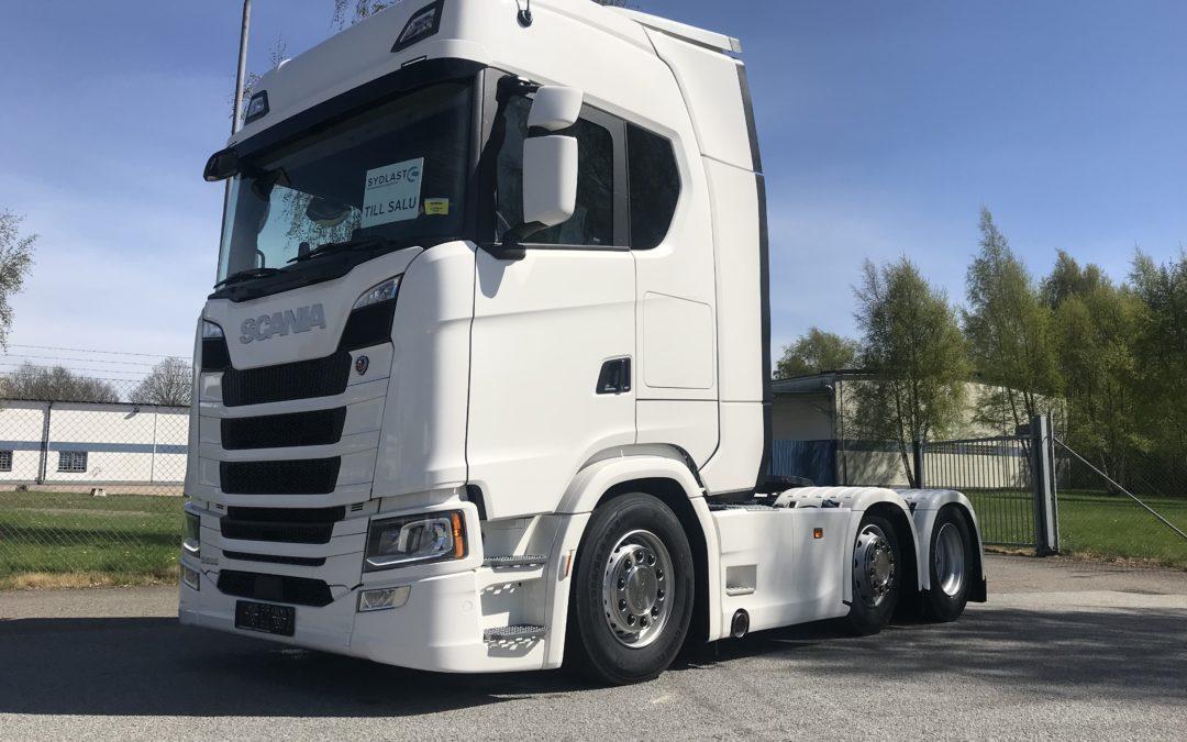 Scania S580A6x2/4NB Puscher
