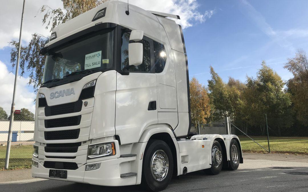 Scania S500A6x2/4NB Puscher