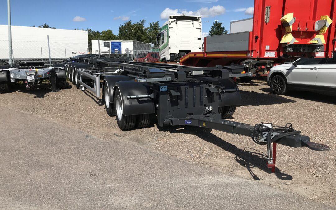 Hüffermann 5axlad lastväxlarsläp Ny