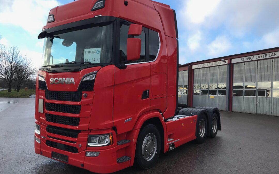 Scania S580A6x2NB Next Generation